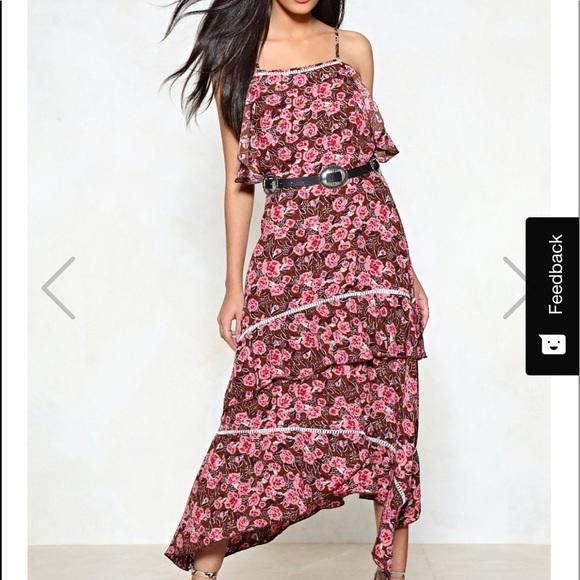 Nasty Gal Dresses & Skirts - Nasty gal La Vie En Rose midi dress